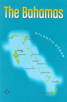 Bahamas - Map of the Islands | Flickr - Photo Sharing!