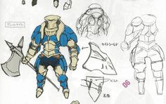 Male Great Knight Awakening Concept Art I have MANY issues with the design of the helmet, no one would be able to actually see with something like that on!