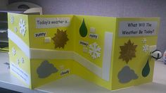 Special Classroom: Weather using rolling right along kit