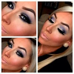 Too much contouring. Way too drastic of a change in color from under the eyes to the rest of the face.