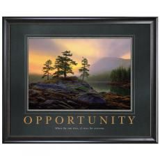 All Motivational Posters - Opportunity Mountain Lake Motivational Poster