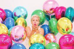 Throw kindness around like confetti!   Northstar Balloons | northstarballoons.com