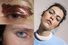 os Achados   maquiagem   Sombra colorida e metalizada