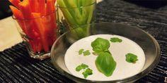 Grøntsager med dip