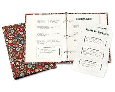 """""""A year in my life journal"""" i wish i had the dedication..."""