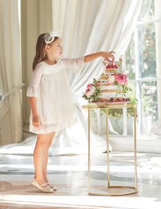 Explore the latest range from designer Abel & Lula, featuring accessories and beautiful designer dresses for girls. Shop our exclusive collection. Girls Dresses, Flower Girl Dresses, Cute Poses, Kids Online, Occasion Wear, Kids And Parenting, Designer Dresses, Lace Dress, Wedding Dresses
