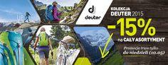 Promocja na asortyment turystyczny Deuter w sklepie Landersen.pl - sprawdź ofertę.