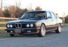 1982 BMW 733i 5-Speed