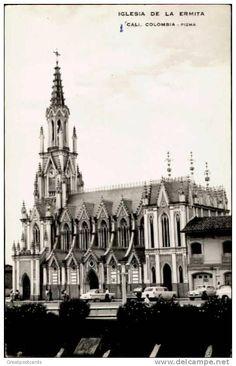 LA ERMITA. FORO: FOTOGRAFIAS DE CALI VIEJO Cali Colombia, History, Building, Travel, Urban Analysis, Cathedrals, Bubbles, Past Tense, Earth