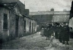 An image from the Dublin Housing Report, published in the wake of the Church Street tenement collapse in 1913 Photo: South Dublin County Libraries Dublin House, Photo Engraving, County Library, Slums, Photo Hosting, Dublin Ireland, More Photos, Earth, History