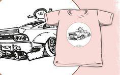 Crazy Car Art 0007 / kids t-shirt Weird Cars, Car Illustration, Kustom Kulture, Old School, Tokyo, Vehicle, Kids Outfits, Drawings, Artwork