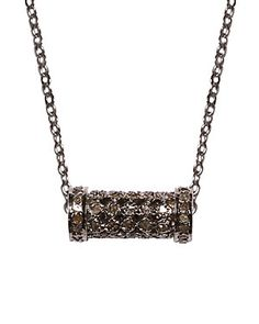 Diana Ciler Silver Topaz Necklace