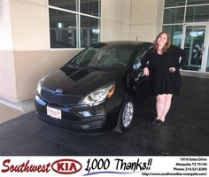 https://flic.kr/p/GNqkKP | #HappyBirthday to Lacey from Clinton Miller at Southwest Kia Mesquite! | deliverymaxx.com/DealerReviews.aspx?DealerCode=VNDX