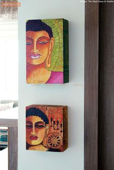Buddha Decor, Fine Art, Interior, Blog, Painting, Indoor, Painting Art, Blogging, Paintings