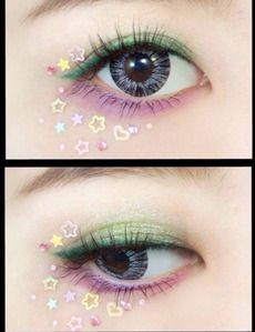aww kawaii makeup!
