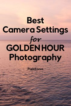 Golden hour light is magical. Read this guide and get familiar with the best gear and camera settings to improve your golden hour photography. camera Best Camera Settings for Golden Hour Photography Photography Beach, Improve Photography, Photography Settings, Dslr Photography Tips, Mixed Media Photography, Photography Tips For Beginners, Photography Lessons, Photography Tutorials, Digital Photography