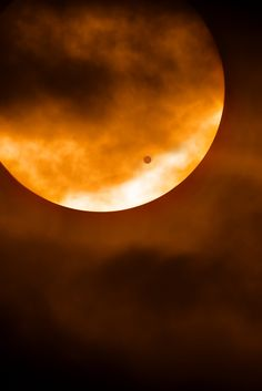 Transit of Venus. i got to see this last night! :D won't happen again for another 110 years