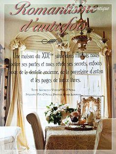 maison romantique magazine casa romantica magazine pinterest shabby magazines and search. Black Bedroom Furniture Sets. Home Design Ideas