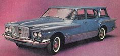 1960 Valiant Station Wagon - this was the family car of my childhood
