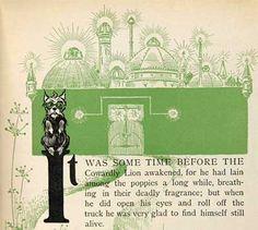 Original Emerald City Illustration