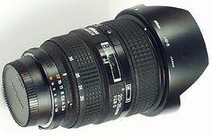AF Zoom Nikkor 20-35mm f/2.8D IF com capa de lente baioneta dedicado HB-8