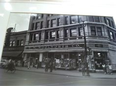 Woolworth. I remember the lunch counter and the hot dogs on a toasted bun