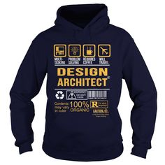 Awesome Design Architect T-Shirt, Hoodie Design Architect