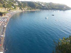 Sguardo sulla spiaggia di San Nicola Arcella (CS).