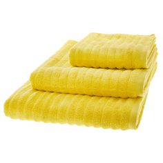 Soak up the suds in style with designer bath & body sets, fluffy towels to wrap up in, shower caddies and bath mats for up to less. Small Bathroom, Bathroom Stuff, Bathroom Ideas, Yellow Towels, Yellow Bathrooms, Bathroom Essentials, Tk Maxx, Towel Set, Bath And Body