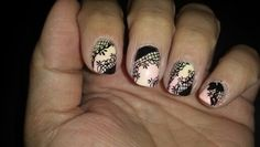 #nailart #dentelles