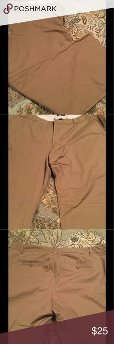 Gap trousers khaki Gap khaki trousers size 16 flare leg GAP Pants Boot Cut & Flare