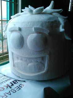 Styrofoam _ Statue