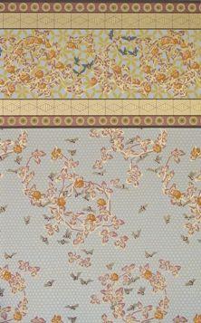 Honeybee Wall & Frieze - Ionia Gold colorway