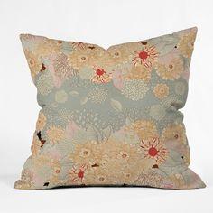 Iveta Abolina Creme De La Creme Throw Pillow   DENY Designs Home Accessories