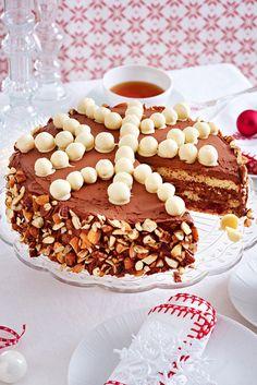 Ein echter Hingucker auf der weihnachtlichen Kaffeetafel. #weihnachten #weihnachtsbäckerei