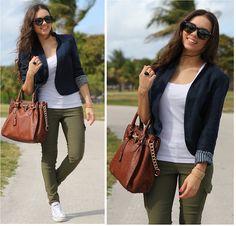 Furor Sunglasses, Express Pants, Converse Shoes, Mimi Boutique Bag, Forever 21 Blazer, Pop Of Chic Bracelet