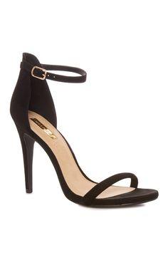 d9d7ae4fb01 Black Single Strap Sandal. Primark HeelsPrimark ...