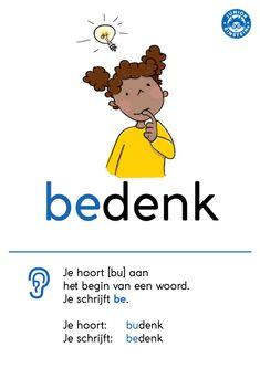 Learn Dutch, Dutch Words, Dutch Language, Kids Writing, Home Schooling, Child Development, Einstein, Classroom, Letters
