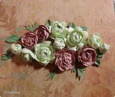 Мастер-класс Бумагопластика: Как я делаю пионы и розы. Бумага, Клей. Фото 1