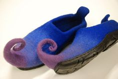 gotta love these! Felted Fairy shoes MADE TO ORDER