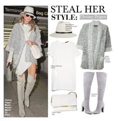 """""""Steal Her Style-Chrissy Teigen"""" by kusja ❤ liked on Polyvore featuring Isabel Marant, MANGO, rag & bone, women's clothing, women's fashion, women, female, woman, misses and juniors"""