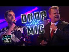 Riz Ahmed and James Corden Trade Raps in a Brutal Yet Socially Relevant Round of 'Drop the Mic' Reggie Watts, Cbs All Access, The Late Late Show, Mic Drop, Rap Battle, Live Tv, Karaoke, Viral Videos, Acting
