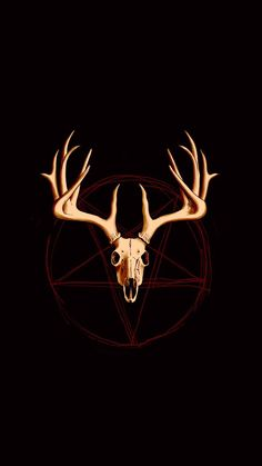 Occult Antlers wallpaper by My Name is Bone - 31d2 - Free on ZEDGE™