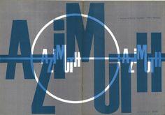 storia dell'arte moderna e contemporanea: 1959 apre la galleria e pubblicato la rivista Azim...