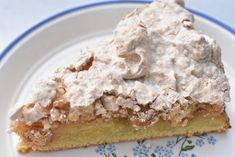Tart, Cake Recipes, Danish, Oatmeal, Food And Drink, Pudding, Cookies, Baking, Breakfast