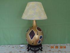 Lámparas de mesa - Garrafa de cristal hecha lámpara - hecho a mano por AFDISENY en DaWanda