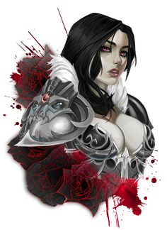 vampire knight portrait by Vymnis on DeviantArt Female Vampire, Vampire Girls, Vampire Art, Vampire Knight, Fantasy Women, Dark Fantasy Art, Fantasy Girl, Character Portraits, Character Art