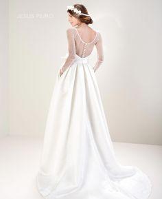 JESUS PEIRO Vestido novia 7011 Colección Mirtilli  JESUS PEIRO Wedding Dress Mirtilli Collection 2017