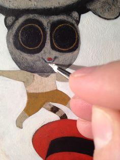 simone rea illustratore: Ok penultimo post! 9.3 (rifiniture)