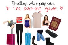What to pack for travelling while pregnant